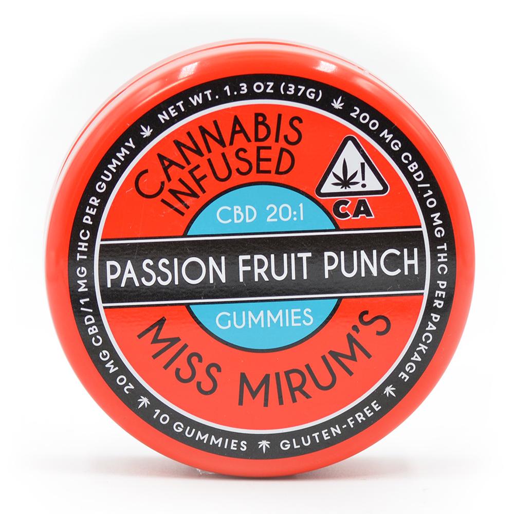 Miss Mirum's Passion Fruit Punch